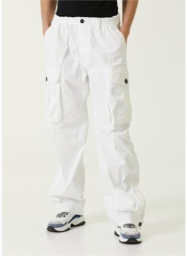 Dsquared2 Pantolon Beyaz